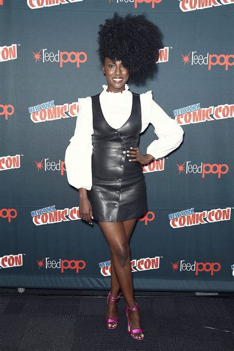 Jade Eshete at the Dirk Gently`s Holistic Detective Agency