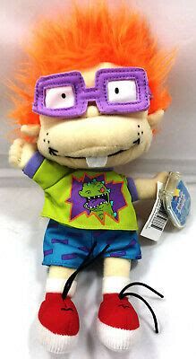 Rugrats Chuckie Finster Star Beans Plush Toy Vintage 90s
