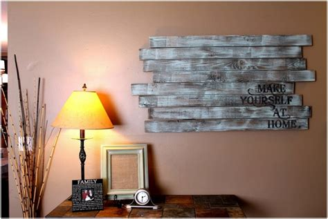 13 Cool Ideas of Wood Wall Decor | PrintMePoster