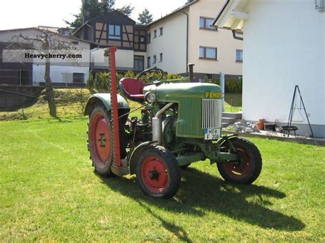 Fendt F20H6 1955 Agricultural Tractor Photo and Specs