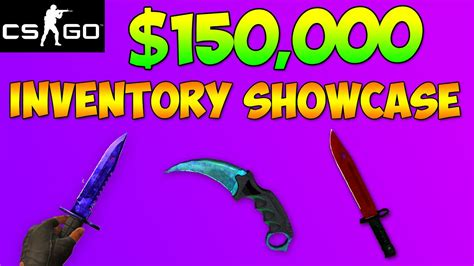 CS GO - The Most Expensive Inventory In Existence