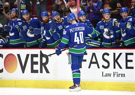 Elias Pettersson and 9 other Canucks having career years
