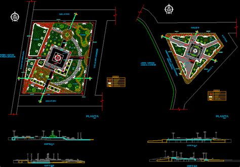 Park in AutoCAD | Download CAD free (4