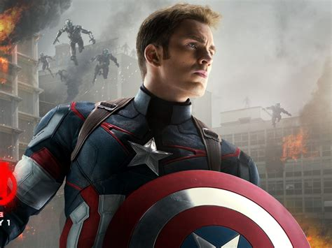 Avengers Age Of Ultron Captain America Marvel Poster Hd