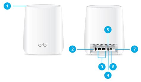 What are the hardware features of my CBK40 Orbi Cable