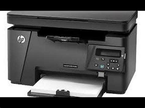 HP laserjet Pro MFP m126 nw Review and Setup - YouTube