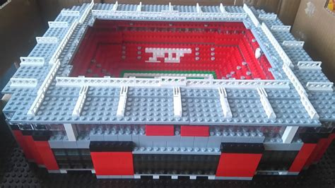 Incredible Lego Anfield and Stamford Bridge models