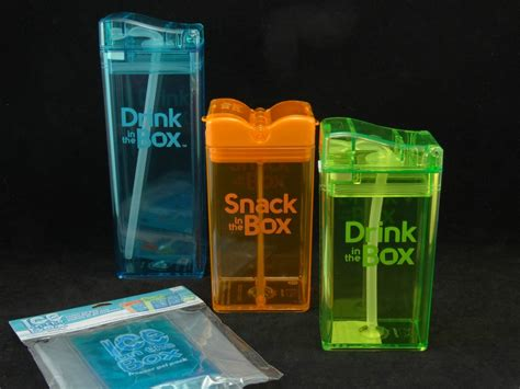 Drink in the Box & Snack in the Box - Reusable Snack and