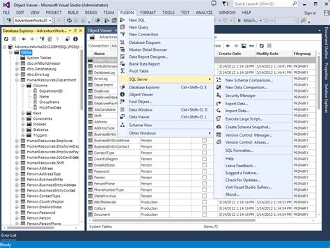 Download dbForge Fusion for SQL Server 1