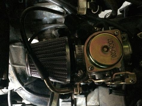 Kymco super 8 50 4T Entdrosseln ? (Roller, Tuning)