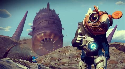 Six years later, No Man's Sky finally gets its sandworm