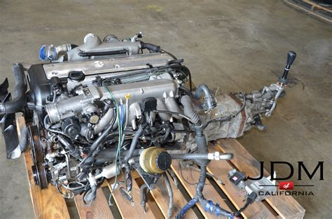 JDM TOYOTA 1JZ-GTE VVT-i Front Sump Engine With R154