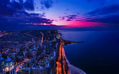 Chicago Sunset Wallpapers | HD Wallpapers | ID #13351