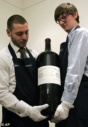 Cheers! 18L bottle of wine tipped to fetch £3,800 at