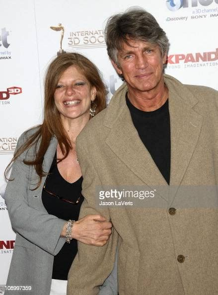 Actor Eric Roberts and wife Eliza Garrett attend the 2nd