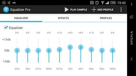 [APP][Share] 10 bands equalizer for android | Sony Xperia Z2