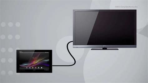 How To Use The HDMI Display Function On Your Xperia