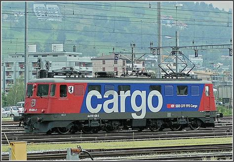 SBB Cargo Ae 6/6 taken at Brig on August 7th, 2007