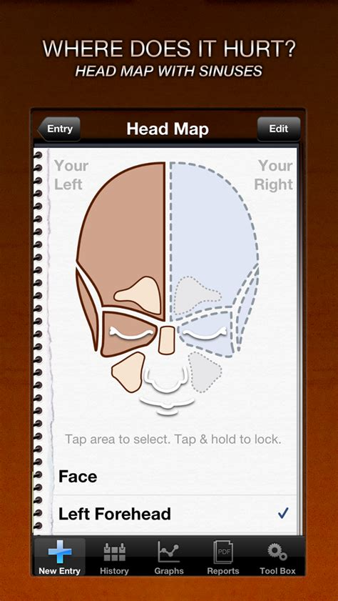 Headache & Migraine Tracker for iPhone and iPod Touch Now