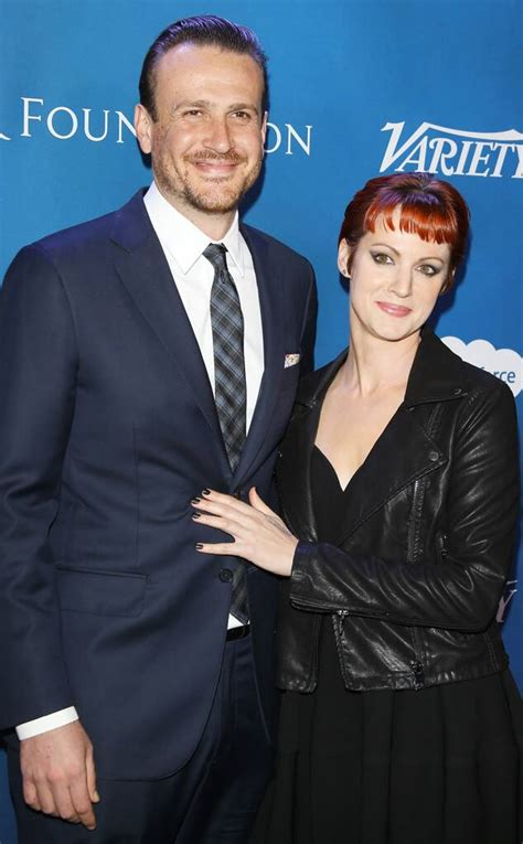 Jason Segel Makes First Red Carpet Appearance With Rumored