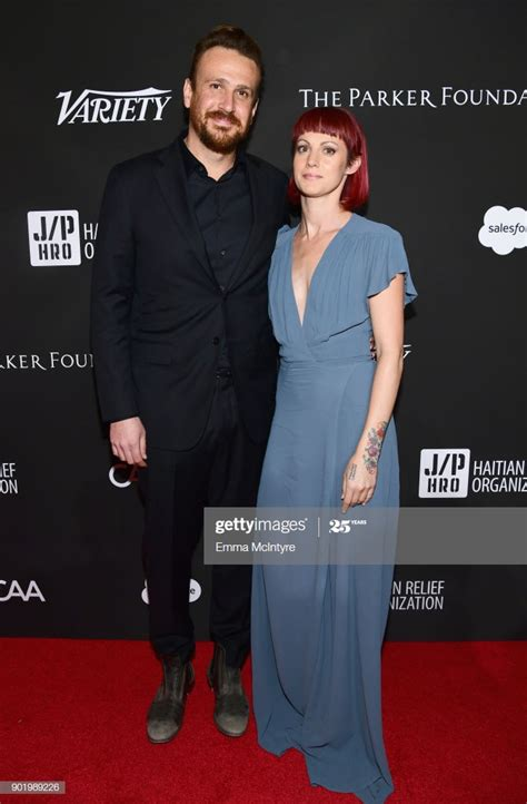 Jason Segel and Alexis Mixter attend the 7th Annual Sean