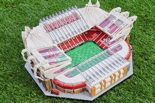 Lego adds Manchester United's Old Trafford ground to its