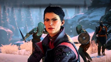 [Dragon Age: Inquisition] Cassandra Disgusted Noise #32