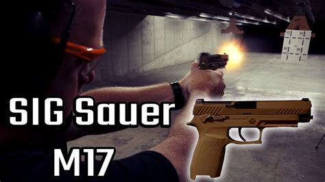 SIG Sauer M17 REVIEW! US Army Gun - YouTube