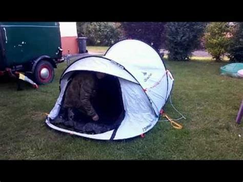 Test of: Quechua 2 seconds FRESH&BLACK 2 person camping