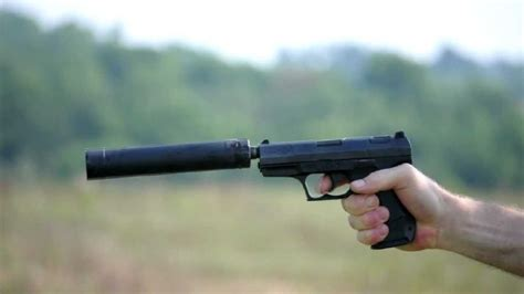 Shooting the Walther P99 with the AAC TiRANT 9mm silencer