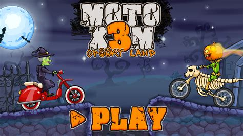 Moto X3M: Spooky Land - Crazy Games - Free Online Games on