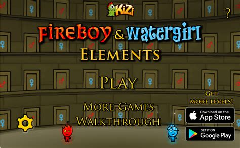 FIREBOY AND WATERGIRL 5: ELEMENTS - Crazy Games - Free