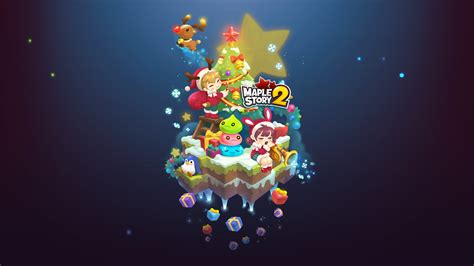 Holiday Wallpapers! | Official MapleStory 2 Website