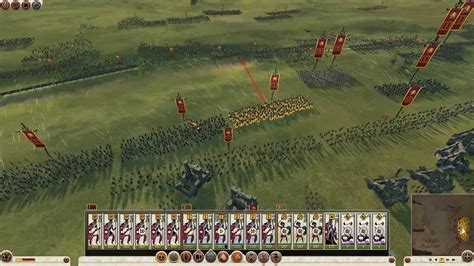 Rome 2 TW Germanic Tribes Fight - YouTube