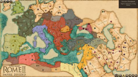 All The Details on Total War: Rome II - Empire Divided