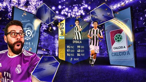 WOW I PACK 97 TOTS DYBALA IN A LIGHTNING ROUND PACK