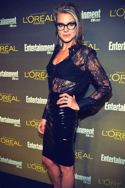 Eliza Coupe at Weekly Pre-Emmy Party - Leather Celebrities