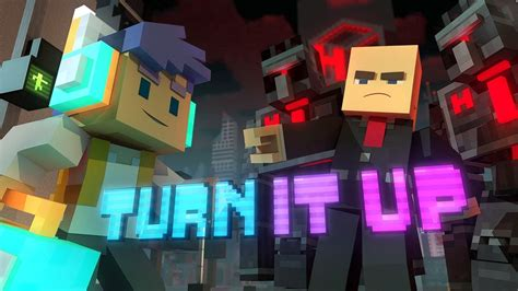 """Turn It Up"""" - A Minecraft Original Music Video/Song"""